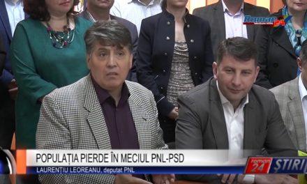 POPULAȚIA PIERDE ÎN MECIUL PNL-PSD