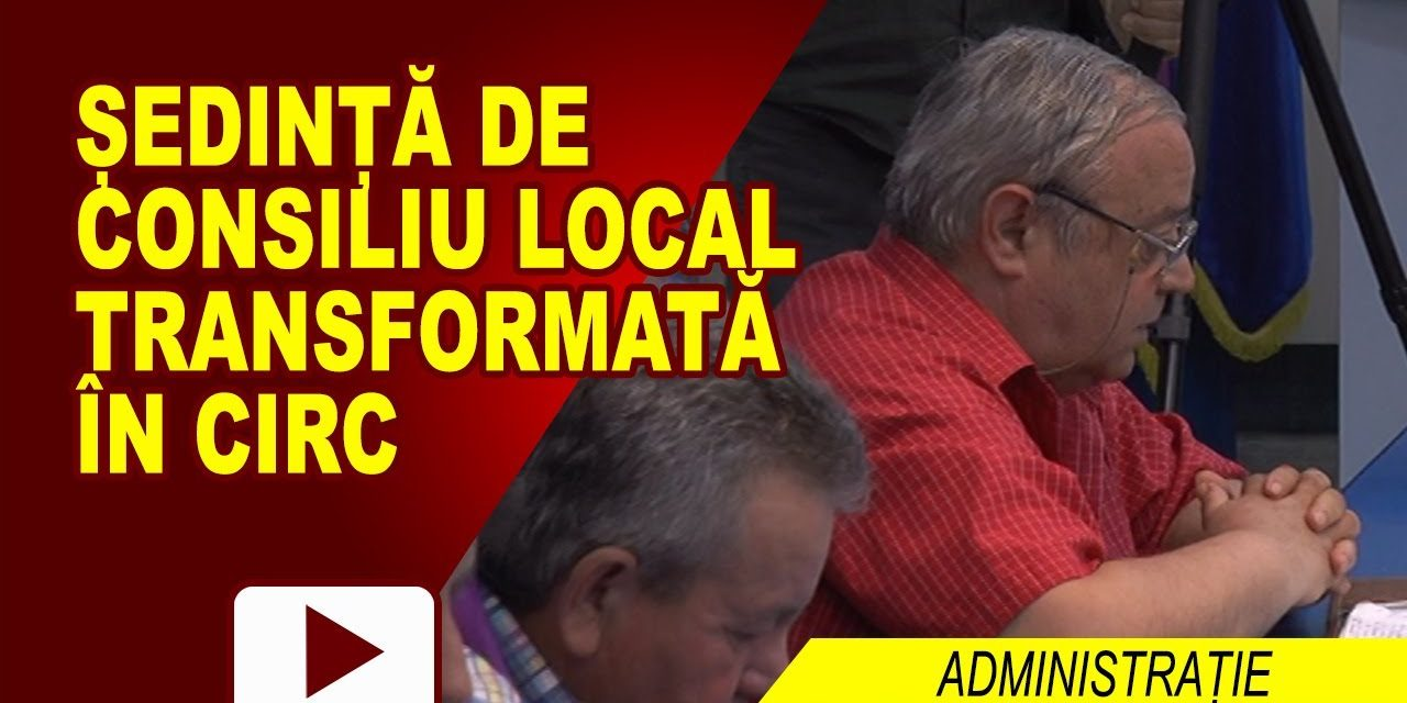 Sedinta Extraordinara de Consiliu Local 29.05.2017