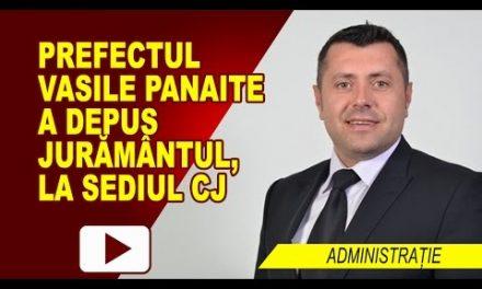 VASILE PANAITE A DEPUS JURĂMÂNTUL DE PREFECT