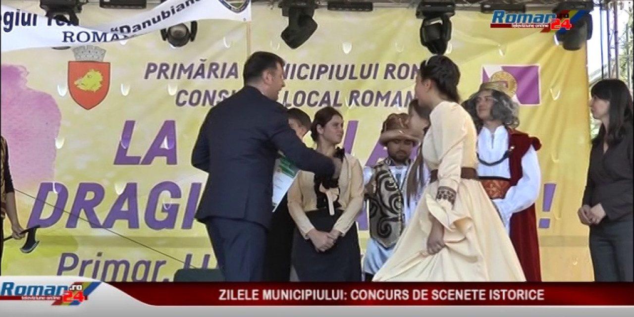 ZILELE ROMANULUI PREMIEREA SCENETELOR ISTORICE