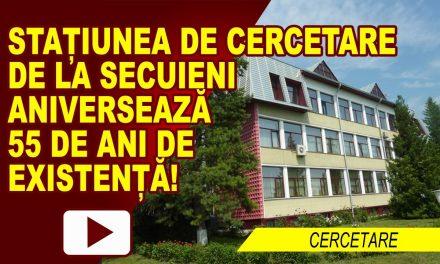 55 DE ANI DE CERCETARE AGRICOLĂ LA SECUIENI