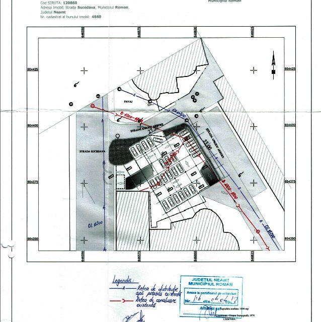 Primăria municipiului Roman a respectat în totalitate legislaţia şi avizele de construire a parcării etajate