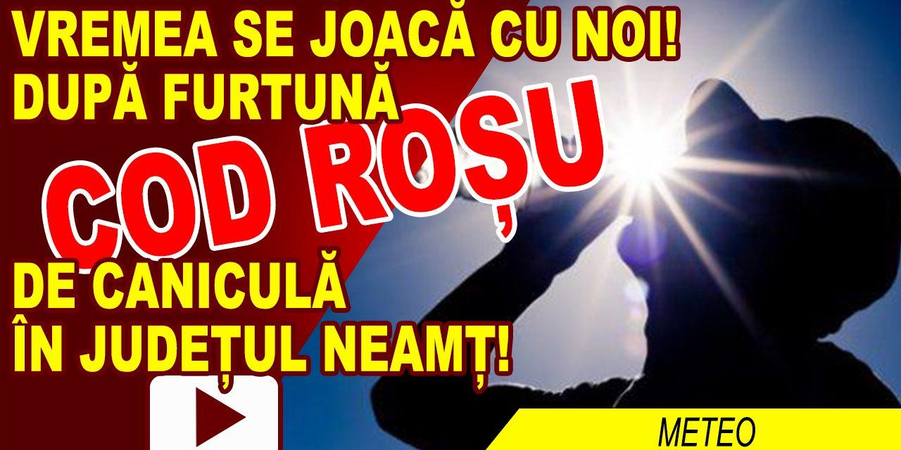 JUMĂTATE DIN JUDEȚ, COD ROȘU, CEALALTĂ JUMĂTATE, COD PORTOCALIU DE CANICULĂ!