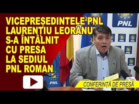 Conferinta de presa – PNL Roman