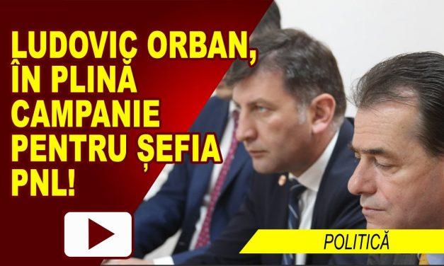 LUDOVIC ORBAN ÎN CAMPANIA PENTRU ȘEFIA PARTIDULUI