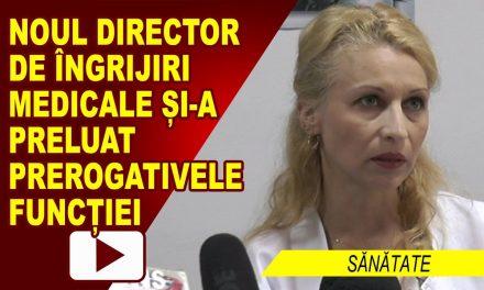 NOU DIRECTOR DE ÎNGRIJIRI MEDICALE LA ROMAN