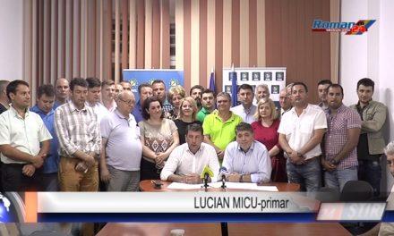 PRIMARUL LUCIAN MICU ȘI-A ANUNȚAT CANDIDATURA PENTRU 2020
