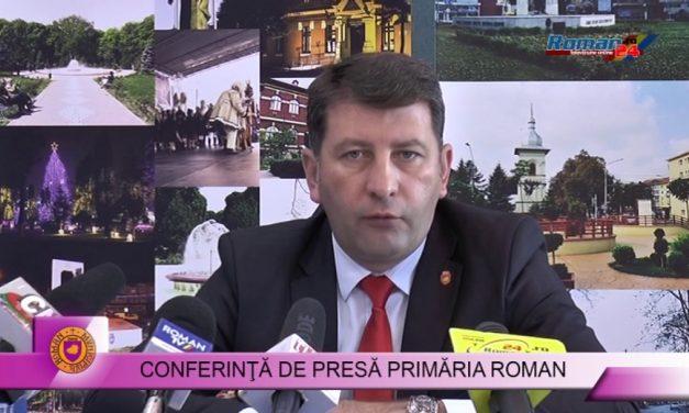 Conferinta de presa Primaria Roman 10.07.2017