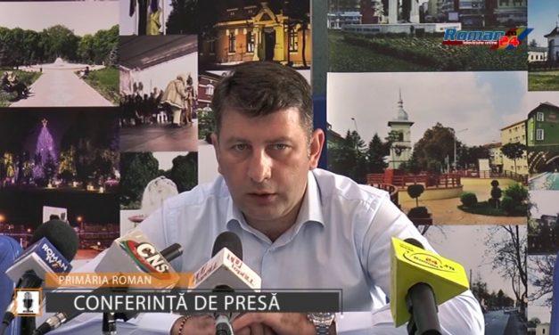 Conferinta de presa Primaria Roman – 24.07.2017