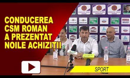 CSM ROMAN A PREZENTAT NOILE ACHIZITII SI PROGRAMUL COMPETITIONAL