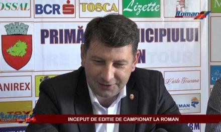 INCEPUT DE EDITIE DE CAMPIONAT LA ROMAN – CONFERINTA DE PRESA