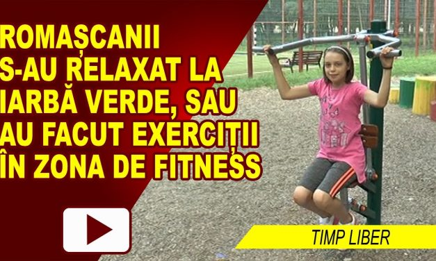 PICNIC ȘI FITNESS IN PARCUL MUNICIPAL