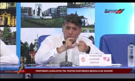 PROPUNERI LEGISLATIVE PENTRU SUSTINEREA MEDIULUI DE AFACERI