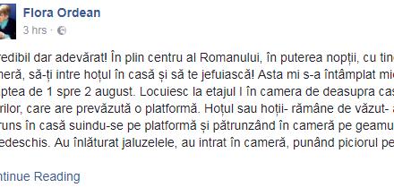 JURNALIST ROMAȘCAN CĂLCAT DE HOȚI, ÎN PUTEREA NOPȚII