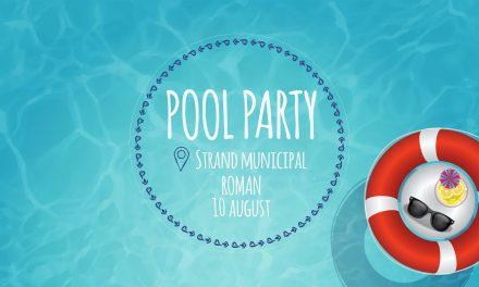Pool Party – Programul manifestarillor de astazi din Strandul Municipal