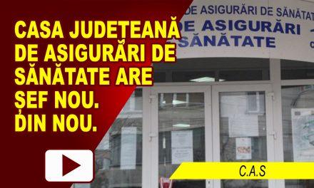 CASA DE ASIGURĂRI DE SĂNĂTATE ARE ȘEF NOU