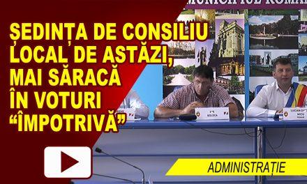 SEDINTA DE INDATA A CONSILIULUI LOCAL ROMAN 10.08.2017
