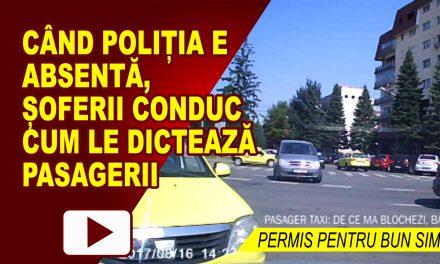 PERMIS PENTRU BUN SIMT 4, SAU CÂND PASAGERUL ÎȚI SPUNE PE UNDE SĂ CONDUCI