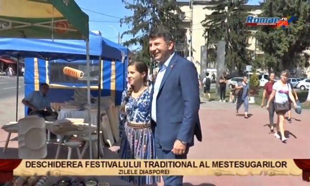 Deschiderea festivalului traditional al mestesugarilor – Zilele Diasporei