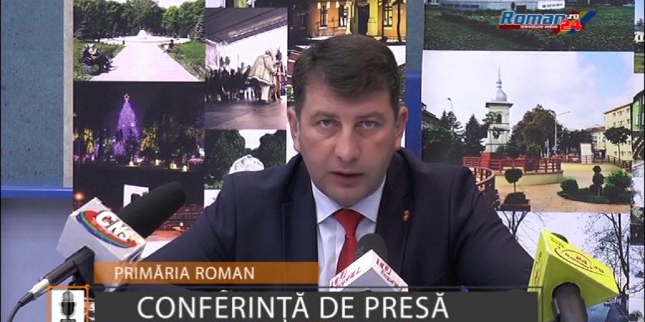 Conferinta de presa Primaria Roman 7 august 2017