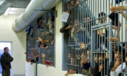 PROTESTE PE LINIE – SISTEMUL PENITENCIAR IN COLAPS