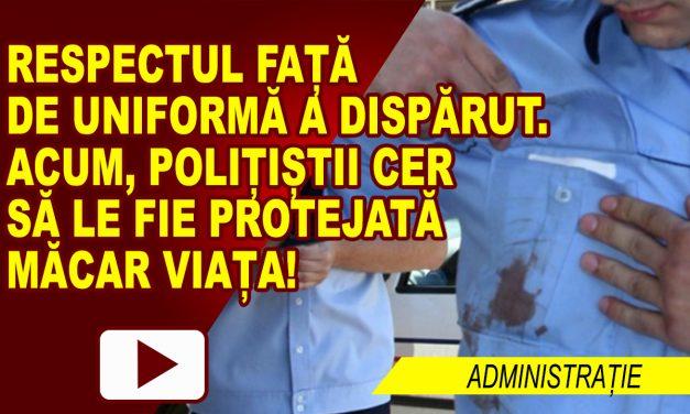 POLIȚIȘTI UMILIȚI ȘI ULTRAGIAȚI, LA MÂNA BEȚIVILOR ȘI INFRACTORILOR
