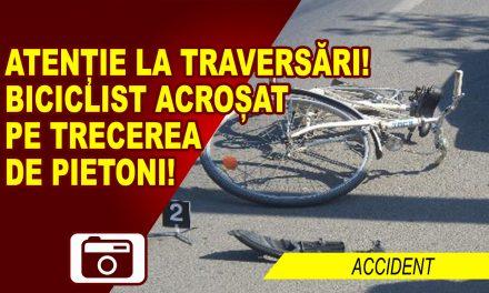 ACCIDENTAT PE TRECEREA DE PIETONI