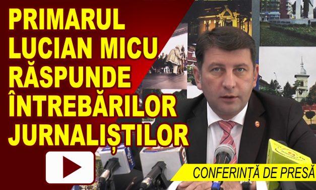 CONFERINȚĂ DE PRESĂ PRIMĂRIA ROMAN 25.09.2017