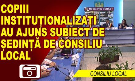 COPIII INSTITUȚIONALIZAȚI, RECLAMAȚI LA PRIMĂRIE
