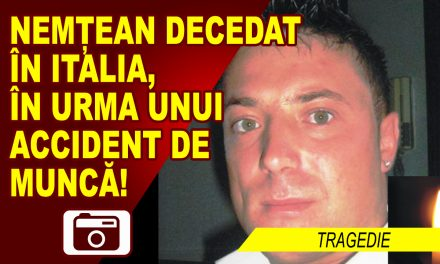 NEMTEAN DECEDAT IN ITALIA, IN URMA UNUI ACCIDENT DE MUNCA