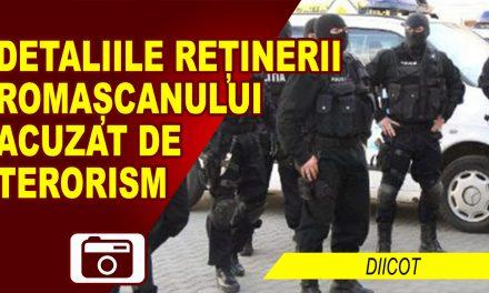 COMUNICATUL DIICOT, REFERITOR LA REȚINEREA ROMAȘCANULUI CONVERTIT LA ISLAM, ACUZAT DE TERORISM!