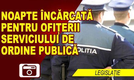47 DE SANCȚIUNI, ARMĂ, LEMN SI PLASE DE PESCUIT CONFISCATE DE POLIȚIȘTI