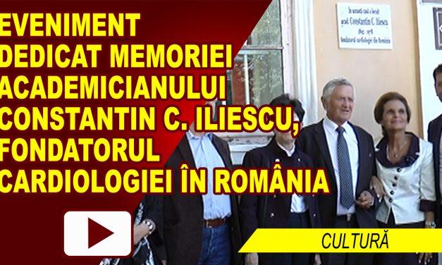 ACADEMICIANUL CONSTANTIN C. ILIESCU, COMEMORAT LA ROMAN