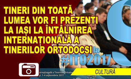 TINERI ROMAȘCANI PREZENȚI LA ÎNTÂLNIREA INTERNAȚIONALĂ A TINERILOR ORTODOCȘI