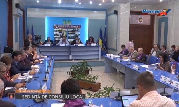 Sedinta Ordinara de Consiliu Local Roman – 28 Septembrie 2017