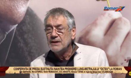 Conferinta de presa sustinuta inaintea premierei lung-metrajului OCTAV, la Roman