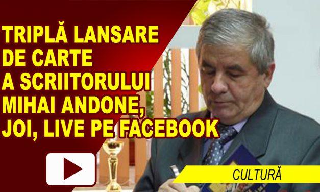 TRIPLĂ LANSARE DE CARTE