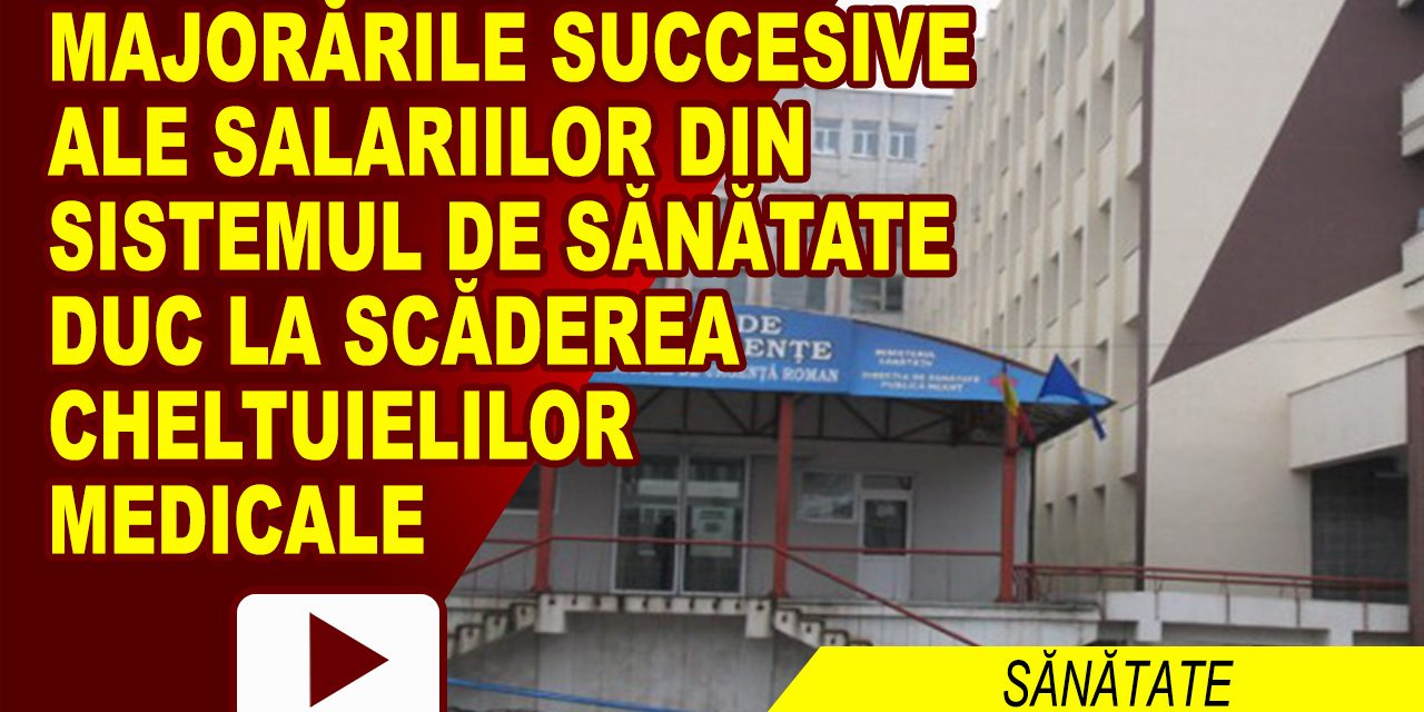 DEFICIT DE FONDURI SALARIALE LA SPITAL
