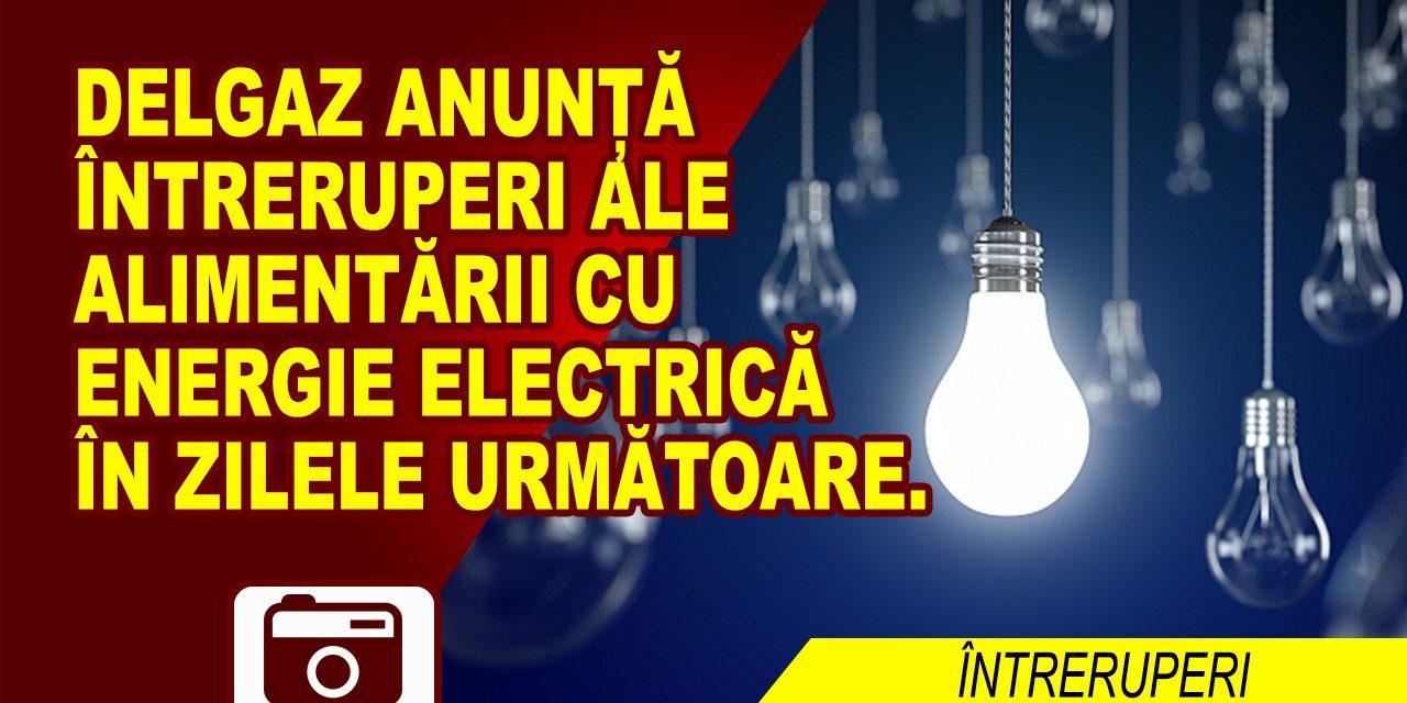 UNDE ȘI CÂND SE ÎNTRERUPE CURENTUL ELECTRIC