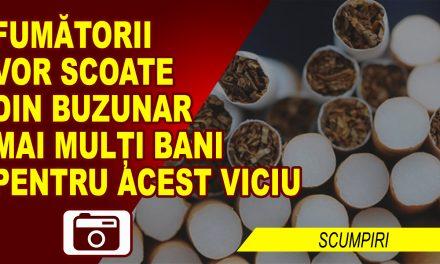 VICIUL FUMATULUI, MAI SCUMP CU 50 DE BANI