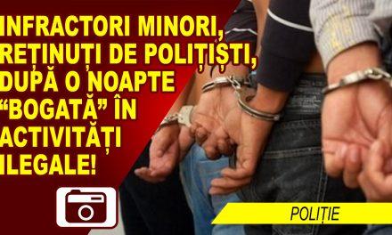 INTRARE PRIN EFRACȚIE INTR-O LOCUINȚĂ, UN GARAJ, PLUS O MAȘINĂ FURATĂ, TOATE INTR-O SINGURĂ NOAPTE!