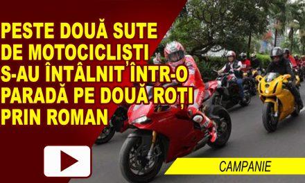 PARADA MOTOCICLETELOR ÎN CENTRUL ROMANULUI