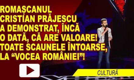 CRISTIAN PRĂJESCU A CONFIRMAT LA VOCEA ROMÂNIEI