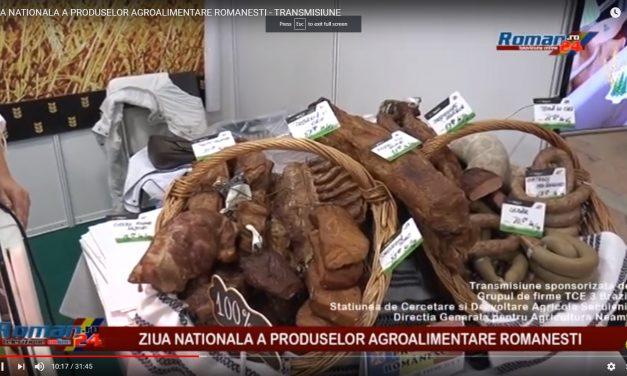 ZIUA NATIONALA A PRODUSELOR AGROALIMENTARE ROMANESTI LA NEAMT
