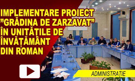 """""""Grădina de zarzavat"""" în unitățile de învățământ din Roman – proiect"""