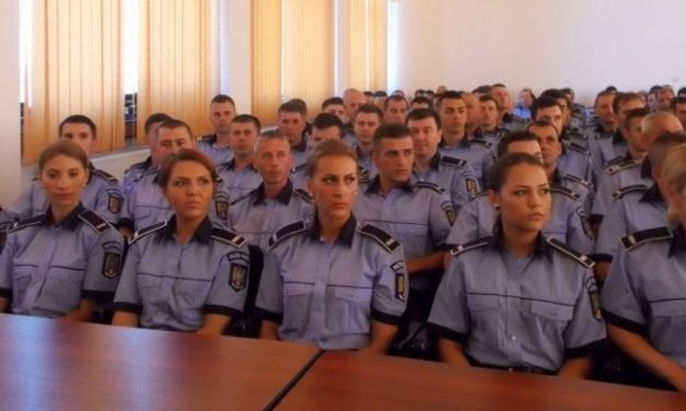 Peste 3.600 de angajari din sursa externa la Poliție