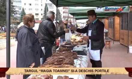 Targul Magia Toamnei si-a deschis portile