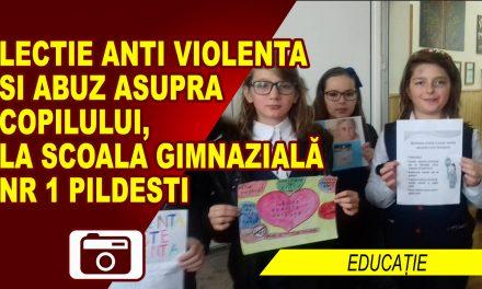 Lecție anti-violență și abuz asupra copilului