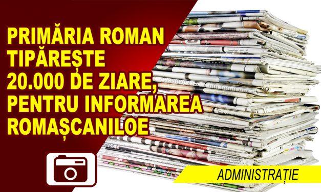 InfoRoman, material de informare a romașcanilor