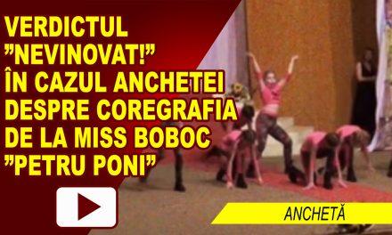 """COREGRAFIA DE LA MISS BOBOC """"PETRU PONI"""", FĂRĂ PATĂ"""
